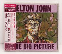ELTON JOHN The Big Picture + Enhanced CD PHCR-1605 Japan CD w/OBI PROMO