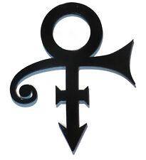 "Black Prince Symbol, Prince inspired wall art, Love Sign Wall decor,  26"" x 22"""