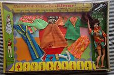 Vintage 1960s Polly Pose n Curl Gift Set Jilmar Barbie Doll Clone