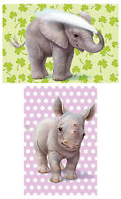 Schmidt Zoo Babies Jigsaw Puzzles (2 x 26 Pieces) - Brand New Schmidt Puzzle