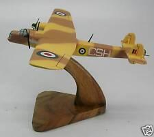 Bristol 130 Bombay Airplane Desk Wood Model Free Ship