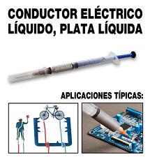 CONDUCTOR ELÉCTRICO LÍQUIDO (MUY ESPESO). MÁS DEL 95 % DE PLATA.