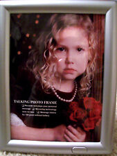 Talking Picture Frame. Records Messages New in Box