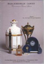 BONDUELLE-LANCRY SCENT PERFUME BOTTLE PRESENTATION Dior Piver Guerlain Catalg 96