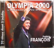 FREDERIC FRANCOIS (2CD)  OLYMPIA 2000