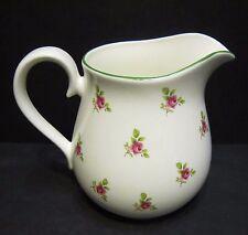 DOT Rosa Inglese Fine Porcellana Cinese 1 pinta di latte brocca da Milton CINA (Verde RIM)