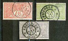 Nederland   84 - 86 met stempel 31 JAN 07 (1)
