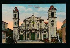 Cuba HABANA Cathedral c1900s? PPC