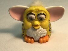FURBY Yellow 1998 McDONALD'S HAPPY MEAL TOY PLASTIC VINTAGE TIGER ELECTRONICS