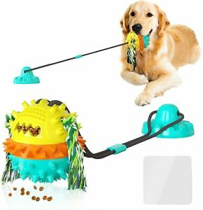 Dog Toys for Aggressive Chewers Suction Cup Tug War Interactive Puzzle Dogs Toys