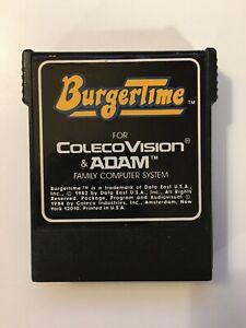 Burgertime (Coleco Vision & Adam Computer System 1984) Interceptor -  CART ONLY