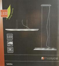 BRILLIANT SATINKA LED Pendelleuchte 4-flg. Hängeleuchte 4x 6 Watt Metall/Glas