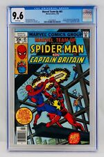 Marvel Team-Up #65 CGC 9.6 White Pages First Captain Britain Appearance 1st App