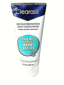 Clearasil Daily Clear Hydra-Blast Oil Free Face Wash 6.5oz New Exp 02/2021