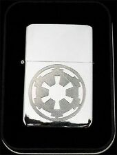 STORM TROOPER IMPERIAL Star Wars Engraved Chrome NEW Lighter Patch Gift LEN-0019