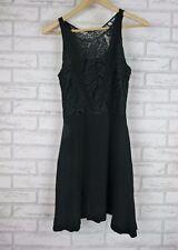 SANDRO PARIS Dress Sz 1, 6, 8? Black Lace  Evening, Cocktail Event