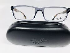 f4bf7cb71e New Ray-Ban RB 5277 5629 Transparent Gray   Havana Eyeglasses 54mm with Case