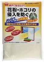 Nitoms E1800 Prevents pollen filter for Window screen Filter pollen dust JAPAN