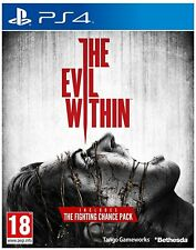 Jeu Ps4 the Evil Within complet Bethesda occasion Playstation 4