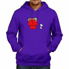 Calvin Hobbes Peanut Snoopy House Crosover Hooded Sweater Jacket Pullover Hoodie
