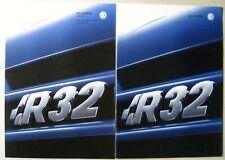 Prospekt brochure  + Preise VW Golf 4 IV 1J R32 3.2 241 PS Modell 2003 deutsch