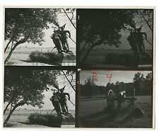 Gettysburg Monuments - Original 8x10 Photo Contact Sheet by Kosti Ruohomaa