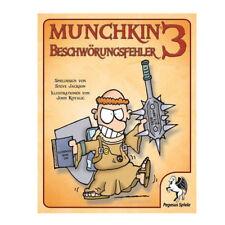 Munchkin Erweiterung 3 Beschwörungsfehler Kartenspiel Pegasus Spiele