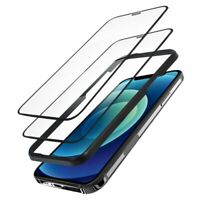 """2-Pack Tempered Glass Clear Screen Protector Film For iPhone 12 Pro Max 6.7"""""""
