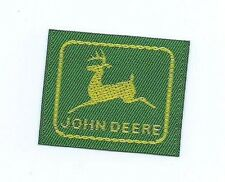 John Deere clothing label 1-1/4 X 1-1/2 small size #610
