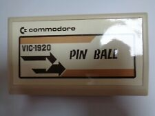 COMMODORE VC-20 / VIC-20 --> PIN BALL (VIC-1920) / CARTRIDGE