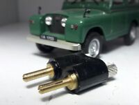 Land Rover Series 1 2 2a 2b 3 Lucas Single 4.7mm Bullet Loom Electric Connectors