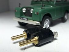 Land Rover Series 1 2 2a 3 Red Black Dash Inspection Lamp Plug Only RTC4784