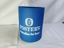 """New listing Large Fosters """" Australian for Beer """" Koozie Coozie Koozy 5"""" tall 4"""" round"""