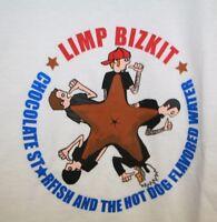 Deadstock LIMP BIZKIT unworn vtg band CHOCOLATE STARFISH album shirt mens MEDIUM