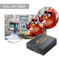 Mini Composite 1080P HDMI to RCA Audio Video AV FOR TV CVBS Adapter Converter