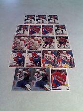 *****Benoit Brunet*****  Lot of 55 cards.....17 DIFFERENT / Hockey
