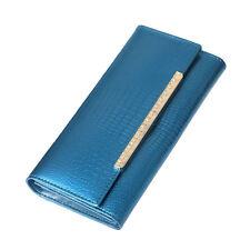 Fashion Women Lady Patent Leather Clutch Wallet Long Purse Card Holder Handbag
