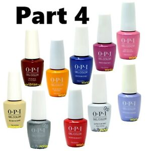 OPI Nail Polish 0.5fl.oz Soak Off Base Top Color Part #4 /Choose Any Color