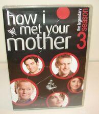 How I Met Your Mother - Season 3 (DVD, 2008, 3-Disc Set, Widescreen) Brand New!