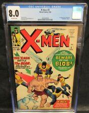 X-Men #3 (1964) Key 1st Appearance The Blob CGC 8.0 D176