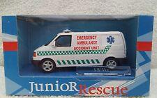 "Cararama 1/43 JUNIOR Rescue VW Van ""d'emergenza AMBULANZA incidente unità"""