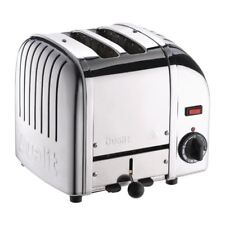 Dualit 2 Slice Vario Toaster Stainless Steel 20245 Silver Up to 65 Slices/hr