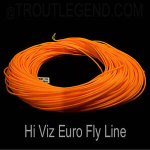 TroutLegend Euro Fly Fising Lines Slim Stealth Nymphing