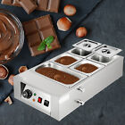 Commercial Electric Chocolate Tempering Machine Melter Maker 12kg 5 Melting Pot
