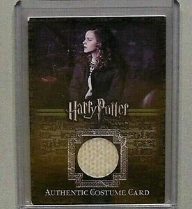 Harry Potter-Emma Watson-Hermione Granger-OOTP-Screen Used-Film-Costume Card-C2