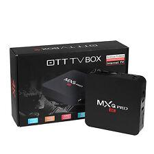 MXQ Pro 4K S905 Smart TV Box 64Bit 2.0GHz Quad Core Android 5.1 1G+8G XBMC #TE
