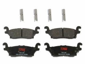 Rear TRW Premium Ceramic Brake Pad Set fits Hummer H3T 2009-2010 93PGFP