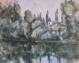 Paul Cezanne, Bank of the Marne, 15th-20th Centuries, Hermitage Collection