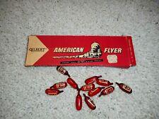 AMERICAN FLYER S SCALE #23025 (12)  SMOKE CARTRIDGES ORIGINAL BOX