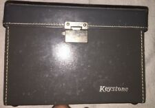 vintage video camera keystone K-27 w/ (2) Film Canisters Strap Case Instructions